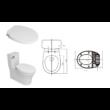 Sapho Clean Star bidé funkciós WC ülőke Soft Close