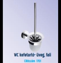 Roltechnik UNO  WC kefetartó (üveg, fali)