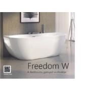 Ravak kád  Freedom W  térben álló