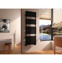 Arezzo Flat Black  150 x 50 cm törölközőszárítós radiátor