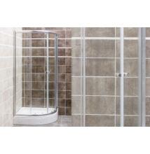 VIVA Favorit STEP zuhanykabin (80x80x180cm, íves) AL105