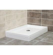 VIVA Favorit TWIN zuhanytálca 16cm (120x80x16cm, szögletes) AL128