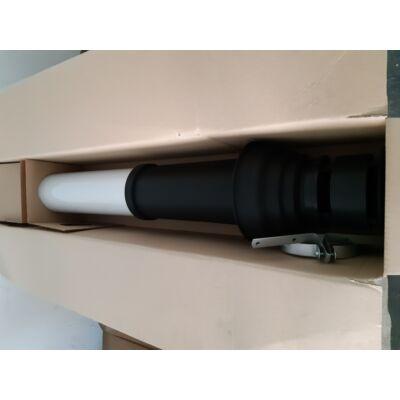 Vaillant függőleges tető átvezető fekete 80/125