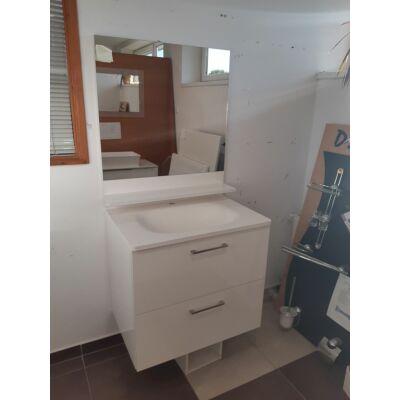 Cavalli Sabina 75  szekrény Capry - Marmite Cavalli mosdóval fehér