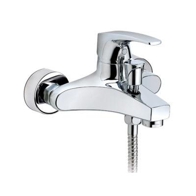 Mofém Flame fali kádtöltő csaptelep zuhanyszettel