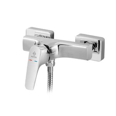 Mofém Flow fali zuhanycsaptelep szett nélkül