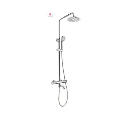 Teka Manacor termosztátos zuhanyrendszer kifolyócsővel