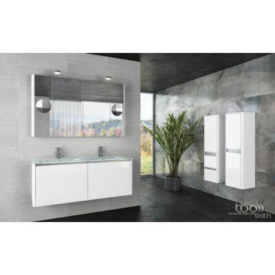 Tboss SOFT GLASS 140 (fürdőszobabútor szett)