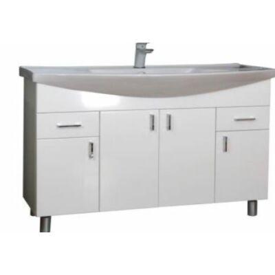 VIVA Ekonomik 100 fürdőszobabútor Sanovit Albatros 101000 mosdóval 100 cm(1D1000D)