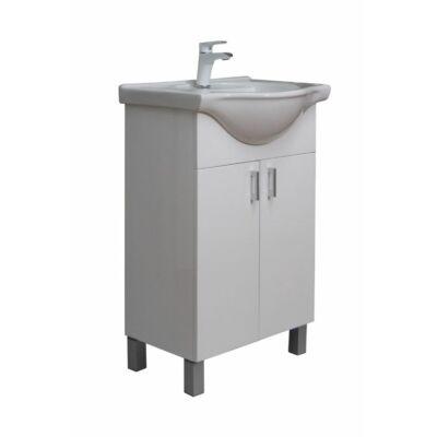 VIVA Ekonomik 55 fürdőszobabútor Sanovit Albatros 10055 mosdóval 55cm (DD550)