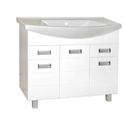 VIVA Szquare 85 fürdőszobabútor Sanovit Zenon 6085 mosdóval 85 cm