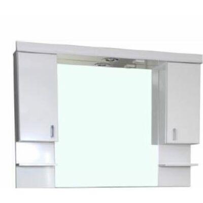 VIVA Tükrös szekrény 100 led világítással 100x90cm (Ekonomik,Bianka,Karina,Bella bútorokhoz)