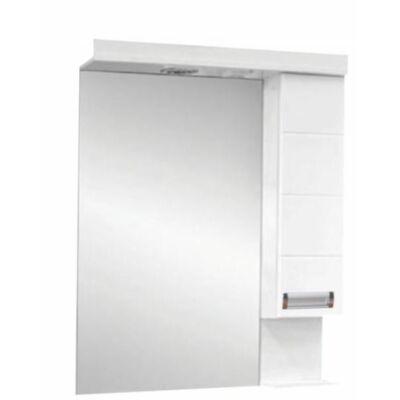 VIVA Szquare 75 tükrös szekrény led világítással 75x90 cm