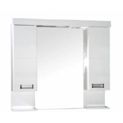 VIVA Szquare 100 tükrös szekrény dupla szekrénnyel led világítással 100 cm (TS100)