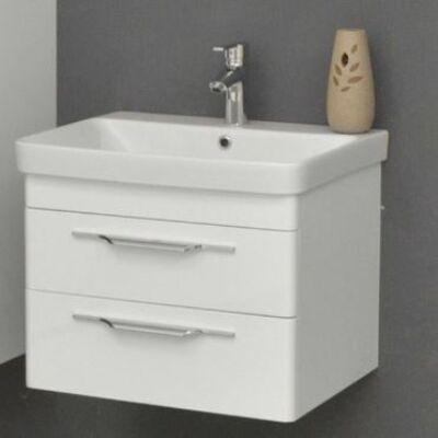 VIVA TMP Lux 60 fali fürdőszobabútor fehér Sanovit Luxury 60 mosdóval 60x60x46