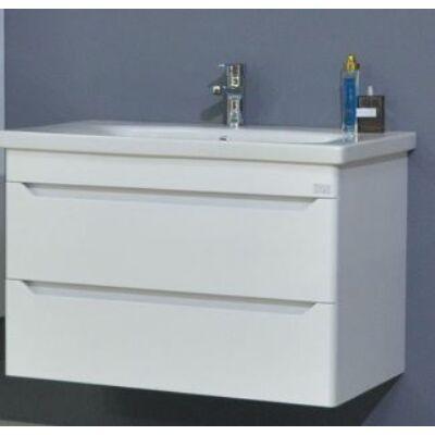 VIVA TMP Sharp 80 fali fürdőszobabútor fehér Sanovit Soft 80 mosdóval 80x52x46