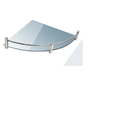 Roltechnik QUATRO 25 x 25 cm Sarok üvegpolc, átlátszó