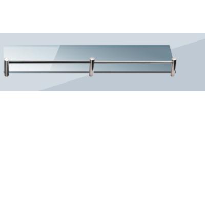 Roltechnik QUATRO 50 x 11 cm polc, 6 mm üvegből,satinato