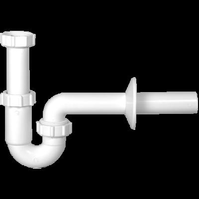 Csőszifon, Ø32 mm-es elfolyással