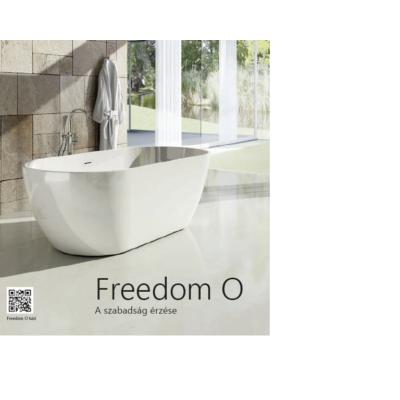 Ravak kád  Freedom O ( térben álló)