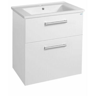 Aqualine  mosdótartó szekrény VEGA, fehér (VG063)