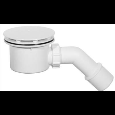 Zuhanytálca szifon 90 mm króm