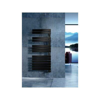 Arezzo Horizont Black 1355 x 550 mm törölközőszárítós radiátor