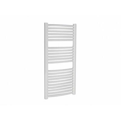 Arezzo Simple White 1000 x 500 mm íves törölközőszárítós radiátor