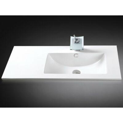 Arezzo Texas aszimmetrikus mosdótál (90x46,5) jobbos