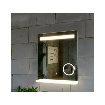 Arezzo LED tükör 60 x 80 cm világító polccal