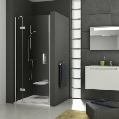 Ravak SmartLine SMSD2-100A (jobb) kétrészes zuhanyajtó