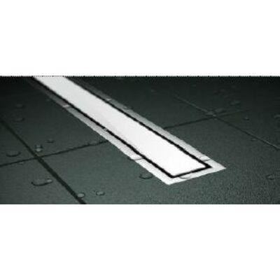 VIVA Pestan Zuhanyfolyóka CONFLUO PREMIUM LINE WHITE GLASS 75 cm