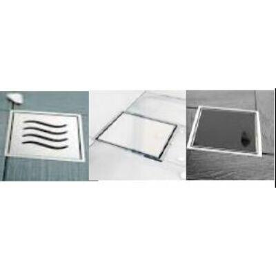 VIVA Pestan Confluo Standard Glass - fekete üveg 11x11cm    11 cm