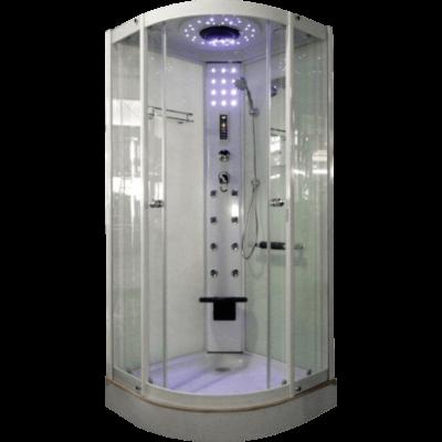 Aqualife Brill 8081 fehér hidromasszázs zuhanykabin 90x90x220 cm