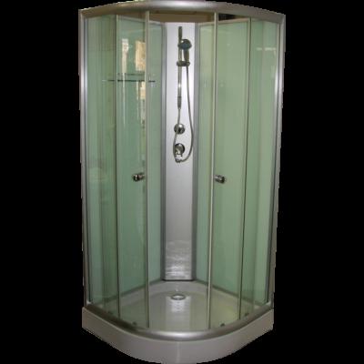 Aqualife Opal 508C Fehér zuhanykabin 80x80x205 cm Tető nélkül