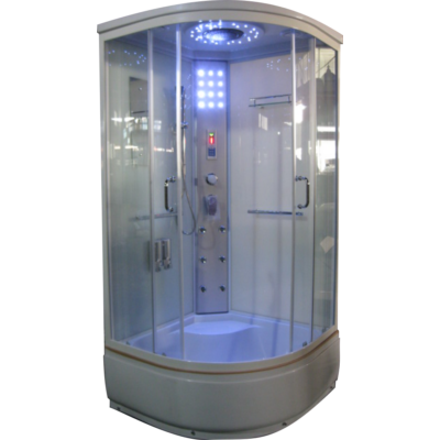 Aqualife Brill 8810A fehér hidromasszázs zuhanykabin 100x100x221 cm