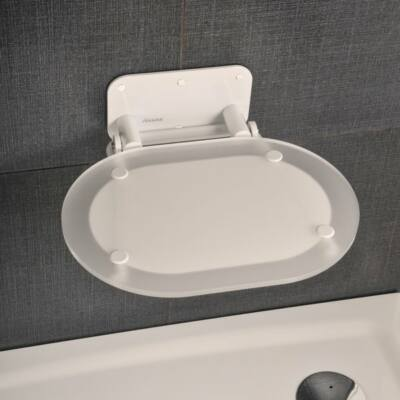Ravak OVO Chrome Clear zuhanyülőke,FEHÉR