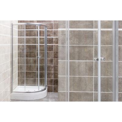 VIVA Favorit STEP zuhanykabin (90 x 90 / 180 cm, íves)AL115
