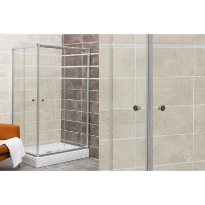 VIVA Favorit TWIN  zuhanykabin (100x80x180cm, szögletes) AL125