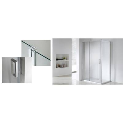 Wellis  zuhanykabin TRITON (szögletes)