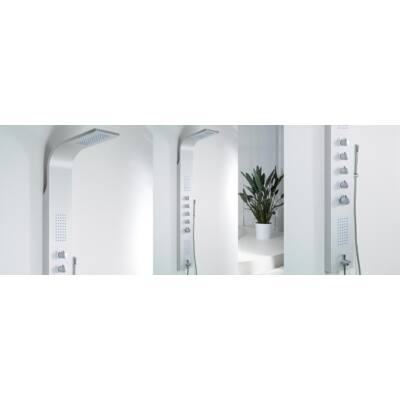 Wellis MARINER SILVER termosztátos zuhanypanel