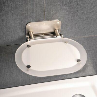 Ravak OVO Chrome Clear zuhanyülőke,ROZSDAMENTES